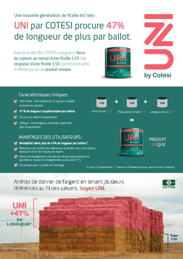 UNI by Cotesi